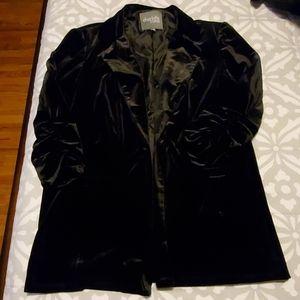 Black stylish blazer